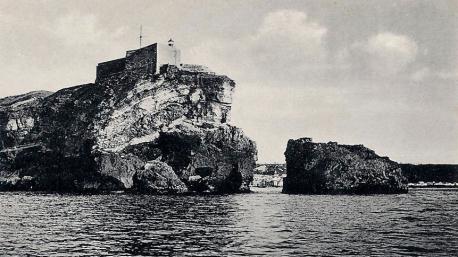Fortaleza ahora utilizada como Faro